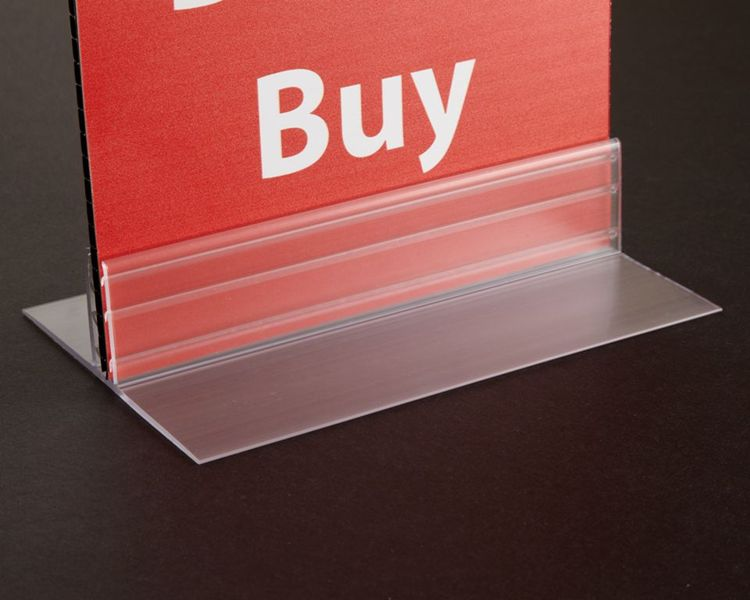 Gripper T-Style Table Top Sign Holder