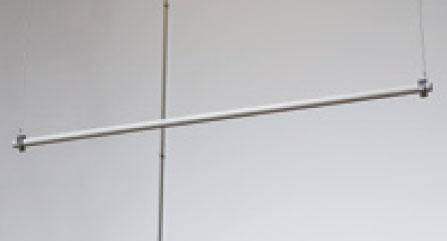 Adjustable Metal Vinyl Graphic Banner Rod System ...