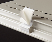 Shelf Extender Clip With Adhesive
