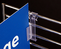 Notched Gripper Wire Flag Sign Holder