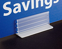Heavy Duty Gripper Sign Holder - Extra Wide
