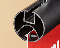 Double Barbed Graphic Fastener - Round