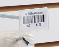 Four-Wire Label Holder For Scan Hooks