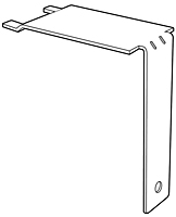 Metal Shelf-Top Bracket - 2