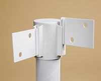 Modular Display Pole Shelf Support