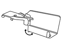 Shelf-Top Swivel Merchandising Strip Hanger - 2