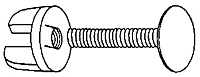 Viking Clip Fastener - Push On Type - 2