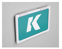 K-Frame Wall Mount Holder Kit - 3