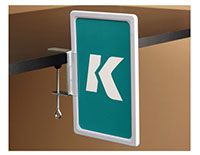 "K-Frame ""C"" Clamp Aisle Holder"