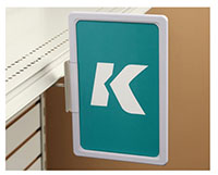 K-Frame Under-Shelf Spring-Mount Holder
