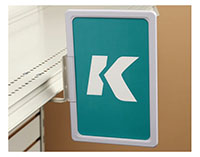 K-Frame Under-Shelf Hardware-Mount Holder