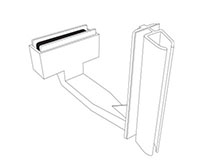 K-Frame Magnetic Under-Shelf Holder - 2