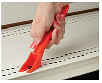 Easy-Off Fastener & Label Remover Tool - Plastic