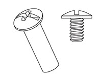 Steel Barrel Bolts & Screws 1/4-20 - 2
