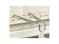 Shelf-Top Hook For Flag Or Flush Merchandising