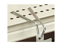 Shelf-Top Hook For Flag Or Flush Merchandising - 3