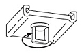 Ceiling Swivel Loop Clip - 2