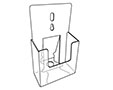 Fold-Up Rigid Literature Holder - 2
