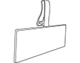 Multi-Purpose Formed Style Label Holder - 2