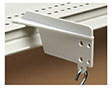 Shelf-Top Merchandising Strip Hanger - Plastic