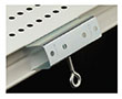 Metal Shelf Channel Adapter With Screw
