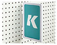K-Frame Pegboard Holder