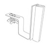 K-Frame Under-Shelf Hardware-Mount Holder - 2