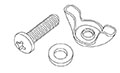 Wing Nut & Bolt Kit - 2