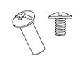 Stainless Steel Barrel Bolts & Screws 10-24 - 2