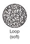 Hook & Loop Fasteners - Loop (Soft)