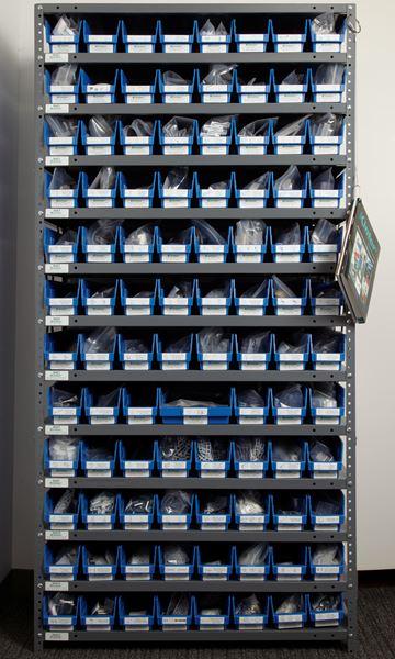 Part 100000 Sign Display Hardware Sample Rack On Kinter