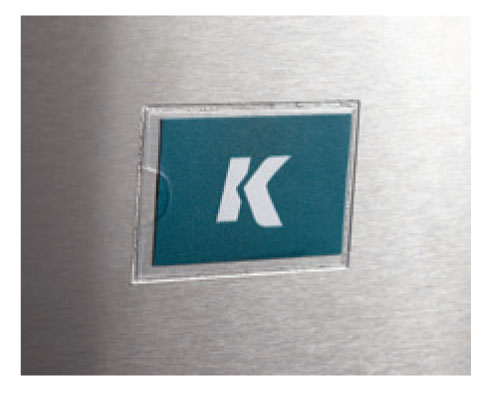 Part # 150050 Vinyl Pouch Tag Pocket With Adhesive On Kinter (K