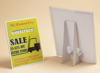 Easel Back Sign Holder