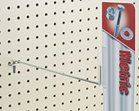 All-Wire Pegboard Hook With Gripper