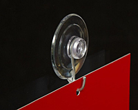 Premium Suction Cup - Metal Hook
