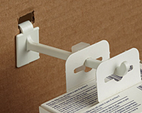 Corrugated/Wire Combo Display Hooks