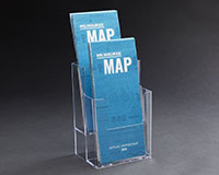 Two-Level Brochure Holder
