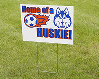 Outdoor Lawn Sign Frame