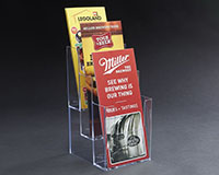 Three-Level Brochure Holder
