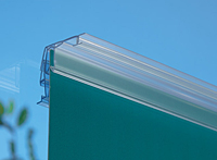 Ladderless Cleat Banner Hanger For Glass