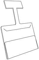 Channel Wobbler Sign Holder - 2