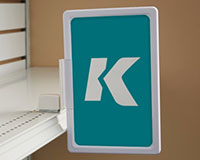 K-Frame Magnetic Shelf-Top Holder