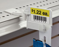 Shelf-Top Swivel Merchandising Strip Hanger