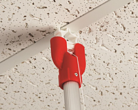 Snap-Lock Ceiling Clip & Cord With Pole