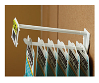 Corrugated Universal Display Hooks With Scan Plate