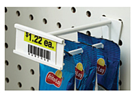 "Pegboard/Slatwall Display Hooks With ""C"" Channel"