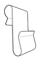 Metal Power Wire Wing Clip - Large Style - 2