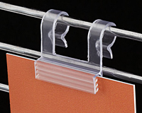 Notched Gripper Wire Flush Sign Holder