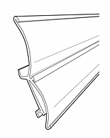 "Double Curved ""C"" Channel For Shelf Channel - 2"