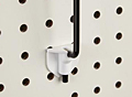 Pegboard/Slatwall Adapter For Aisle Sign Arms - Pegboard